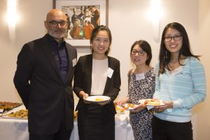 Associate Professor Salmaan Qureshi and Optometrists at Grand Rounds Event