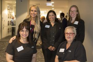 Orthoptists and Administration Team at Grand Rounds Event